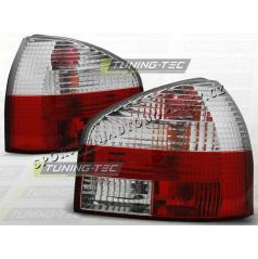 AUDI A3 (8L) 1996-00 zadné lampy RED WHITE (LTAU02)