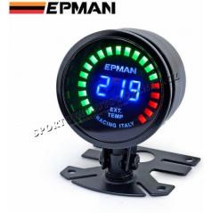 EPMAN RACING digitálny budík 52 mm teplota výfukových plynov