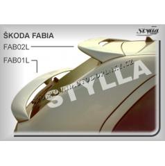 Škoda Fabia HTB spoiler zadných dverí spodný (EÚ homologácia)