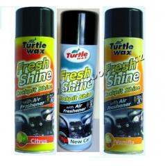 Cockpit spray Turtle Wax - rôzne vône - 500 ml