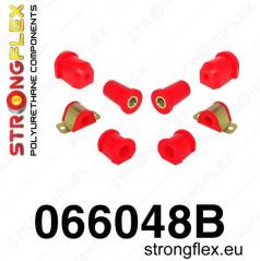 Fiat Seicento 1998-08 Strongflex zostava silentblokov len pre prednú nápravu 8 ks