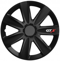 "Kryty kol GTX CARBON BLACK 14-16"" (po 1 ks)"