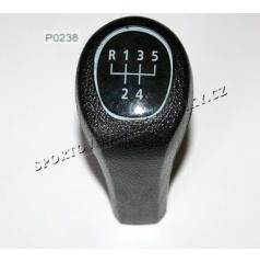 Hlavica radiacej páky čierna BMW 3,5,7 (E34,36,38,39,46)  typ II