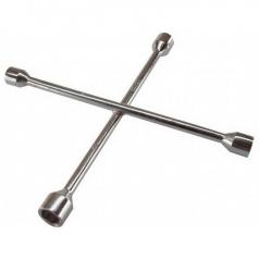 Kľúč na kolesá krížový chróm 17,19,21 a 23 mm