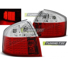AUDI A4 10.2000-10.2004 zadné LED lampy RED WHITE (LDAU79)