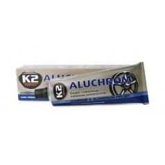 K2 aluchrom - pasta na čistenie a leštenie kovových povrchov 120 g