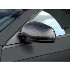 Kryty zrkadiel Milotec - ABS karbon, Škoda Superb Facelift