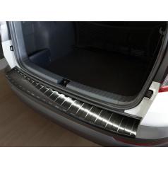 Ochranný panel zadního nárazníku Škoda Karoq  nerez kovová tmává šedá
