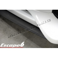AUDI A4 (Typ B8) RIEGER lipa pod spoiler Carbon-Look (S 00099066)