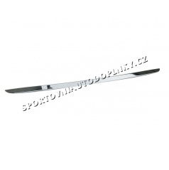Hyundai i20 - NEREZ chrom spodní lišta kufru OMSA LINE