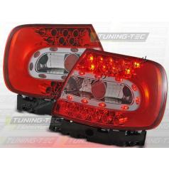AUDI A4 (B5) 1994-00 zadné LED lampy RED WHITE (LDAU07)