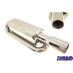 Sportovní výfuk TurboWorks Bionix, koncovka 76 mm, vstup 63,5 mm