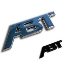 ABT Sportsline - chrómové / čierne logo 115x45 alebo 77x30 mm
