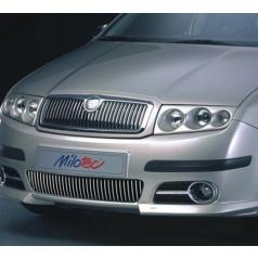 Lišty predného nárazníka - Škoda Fabia I Facelift Limousine, Combi, Sedan 2004-2007