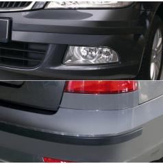 Ochranné lišty predného a zadného nárazníka - Škoda Octavia II. Facelift Lim., Combi 2008-2012