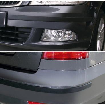Ochranné lišty předního a zadního nárazníku - Škoda Octavia II. Facelift Lim./Combi 2008-2012