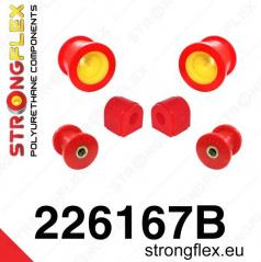 Škoda Octavia II Strongflex zostava silentblokov len pre prednú nápravu 6 ks