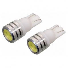 2 ks žiaroviek LEDextra T10 12V 5W - biela
