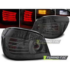 BMW E60 07.2003-07 zadné lampy smoke LED (LDBM96)