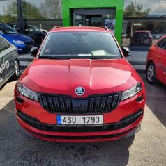 Mračítka Sportive v originál Škoda farbe Velvet red (F3P) - Škoda Karoq