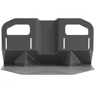 Plastová zábrana II do kufru s otvory na poutka velká