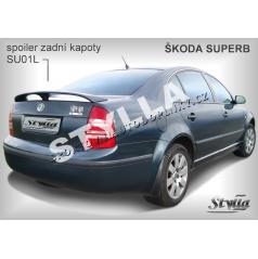 Škoda Superb spoiler zadnej kapoty SU01L (EÚ homologácia)