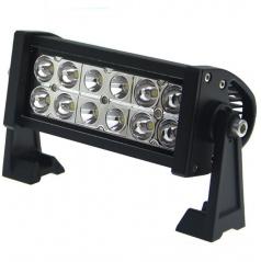 LED rampa 2-radová 36W 25x11 cm
