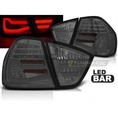 BMW E90 03.05-08.08 zadné lampy smoke LED BAR (LDBMF7)