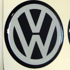 Znak VW priemer 55 mm, 4 ks