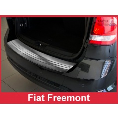 Nerez kryt- ochrana prahu zadného nárazníka Fiat Freemont 2011+