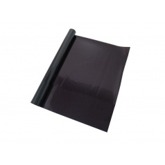 Fólia na sklo 50 a 75 x300cm čierna priepustnosť 5%, 15%, 40%
