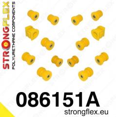 Honda S2000 1999-2004 StrongFlex Sport sestava silentbloků jen pro zadní nápravu 14 ks