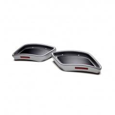 Spoilery zadného difúzora - atrapy výfuka RS design- Škoda Kodiaq