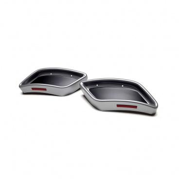 Spoilery zadního difuzoru - atrapy výfuku RS design - Škoda Kodiaq