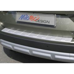 Prah piatych dverí s výstupky, strieborný matný - Škoda Yeti City Facelift od r.v. 2013