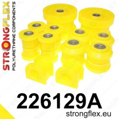 Škoda Octavia I Strongflex Šport zostava silentblokov len pre zadnú nápravu 8 ks