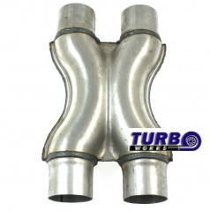 Nerez X výfukové redukcie TurboWorks