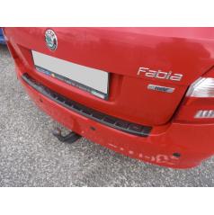 Prah piatych dverí s výstupky, ABS-čierna metalíza Škoda Fabia II Combi