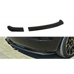 Spoiler pod zadný nárazník pre Škoda Fabia RS Mk1, Maxton Design (čierny lesklý plast ABS)
