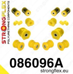 Honda Civic 1996-2000 StrongFlex Sport sestava silentbloků jen pro přední nápravu 14 ks