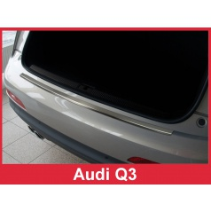 Nerez kryt- ochrana prahu zadného nárazníka Audi Q3 2011-16