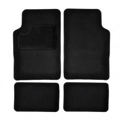 Autokoberce textilné čierne pre celé auto II