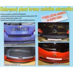Ochranný plast hrany zadného nárazníka VW Passat 3C Limouzine 2005+