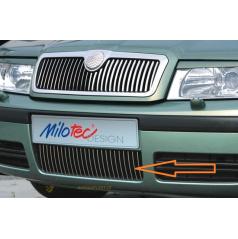 Lišty predného nárazníka, Octavia I Lim., Combi Facelift 09/00 +, Octavia I RS Lim., Combi 05/01 +