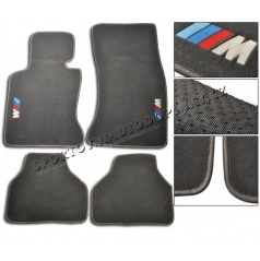BMW E65 Luxusné športové textilné koberce s logom M