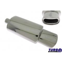 Športový výfuk TurboWorks oválna koncovka (63 mm vstup)