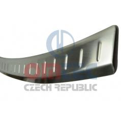 Audi Q7 2006+ - NEREZ ochranný panel zadného nárazníka RS6 Brushed - Omtec