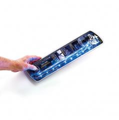 Led osvetlenie 2x30cm modré (interiér, exteriér)