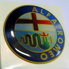 Znak Alfa Romeo priemer 55 mm, 4 ks