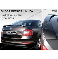 Zadný spoiler Škoda Octavia htb 2013 z (EÚ homologácia)